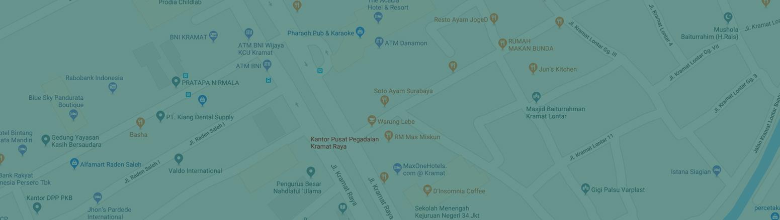 maps pegadaian pusat